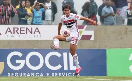 Igor Gomes tem 44 jogos e cinco gols pelo São Paulo (Foto: Rubens Chiri/saopaulofc.net)