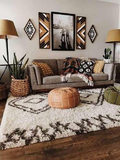3. Escolher o tapete certo para espaço adequado é importante – Foto: Revista Viva Decora