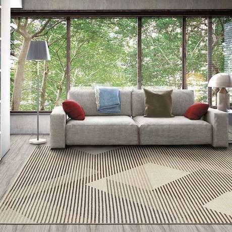 11. O tapete sisal é uma escolha consciente e com estilo para qualquer ambiente sem umidade – Foto: Via Pinterest