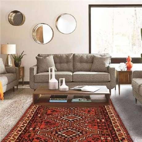 53. Por isso os tapetes persas são ótimas opções – Foto: Via Pinterest