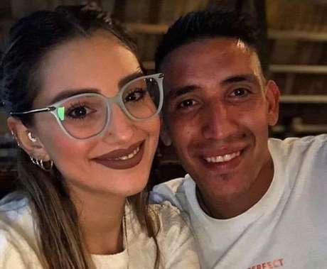 Melody Pasini (esq.) e Ricardo Centurión (dir.) (Foto: Reprodução/Instagram)