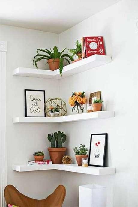 37. Separar um cantinho do ambiente para seu jardim interno de suculentas também traz um resultado lindo – Foto: Via Pinterest