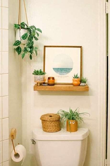 49. Vasos para suculentas em prateleiras são uma ótima maneira de otimizar o espaço – Foto: Via Pinterest