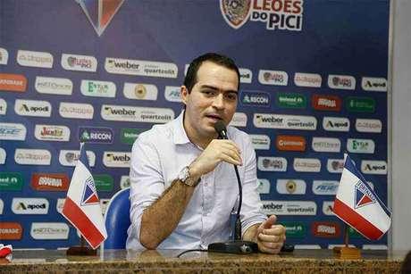 Presidente do Fortaleza Marcelo Paz explicou reduções salariais (Foto: Divulgação/Fortaleza)