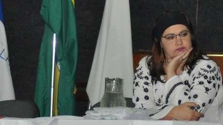 A geóloga Ariadne Marra de Souza usou dinheiro próprio em todos os projetos de extensão na área de geodiversidade que coordenou