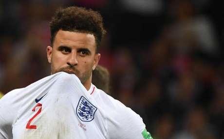 Kyle Walker disputou a última Copa do Mundo pela Inglaterra (Foto: Manan Vatsyayana / AFP)