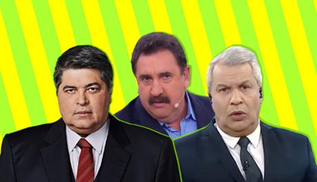 Datena, Ratinho e Sikêra: apoio a Bolsonaro no momento mais crítico do presidente desde o início do mandato