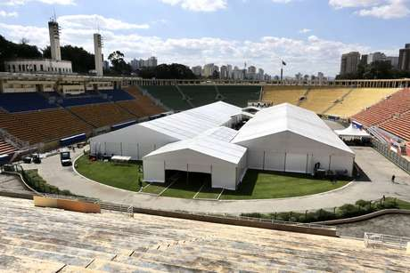 Estádio do Pacaembu terá hospital de campanha para atendimento a casos do novo coronavírus