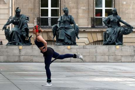 Entrada do Museu de Orsay, em Paris 7/4/2020  REUTERS/Gonzalo Fuentes