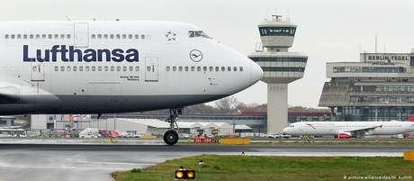 Aeroporto de Frankfurt é o maior da Alemanha