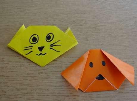 20. Os origamis fáceis podem ser usados para entreter as crianças – Foto: Via Pinterest