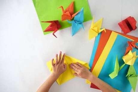 1. Existem diversos modelos de origami fácil para se fazer – Foto: Green me