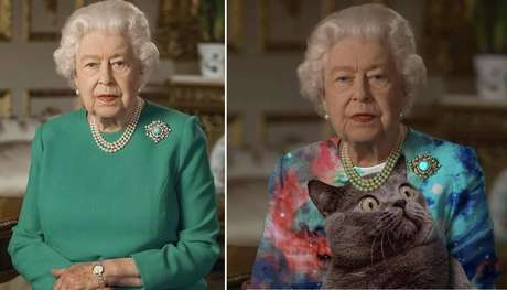 Rainha Elizabeth vira meme