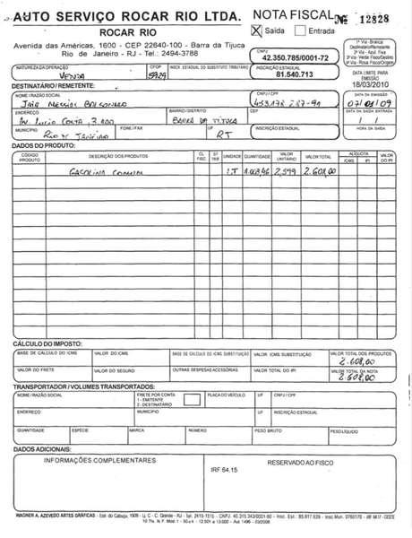 Bolsonaro superfaturou notas fiscais enquanto deputado