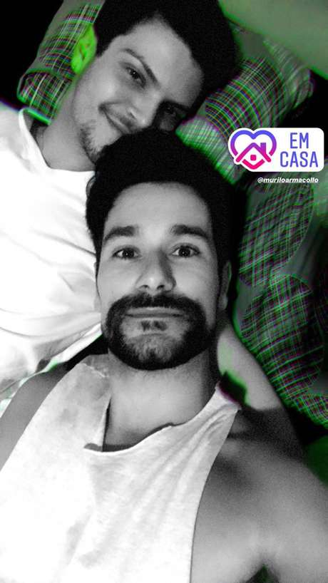 Felipe conta que, por falta de informação, passou coronavírus para o namorado e outros amigos