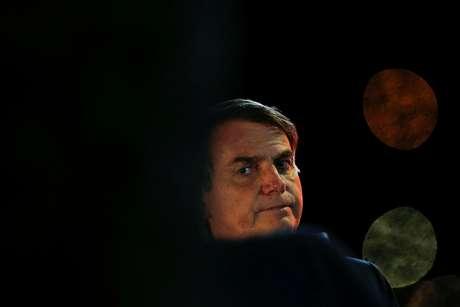 Presidente Jair Bolsonaro chega ao Palácio da Alvorada 08/04/2020 REUTERS/Adriano Machado