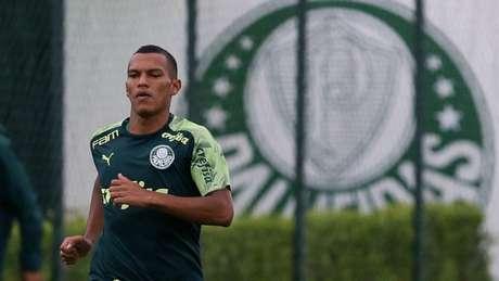Aos 17 anos, Gabriel Veron é exaltado na Europa, mas Palmeiras o utiliza com calma (Agência Palmeiras/Divulgação)
