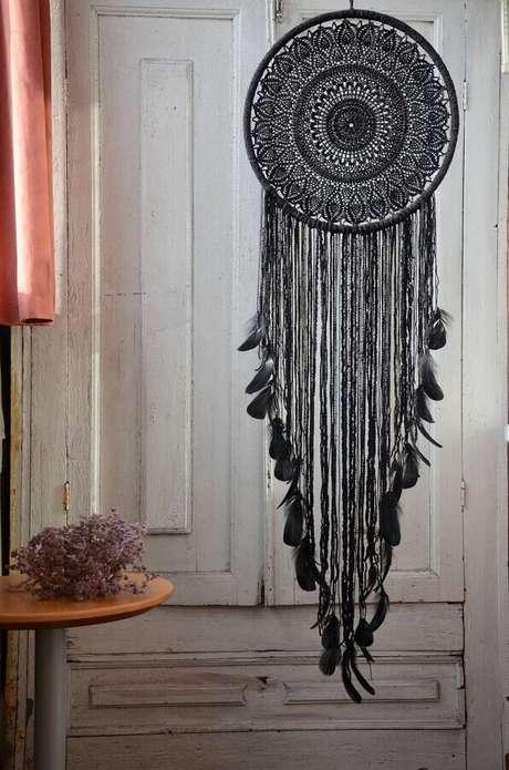 22. O filtro dos sonhos pode ser usado em vários estilos de decoração – Foto: Etsy
