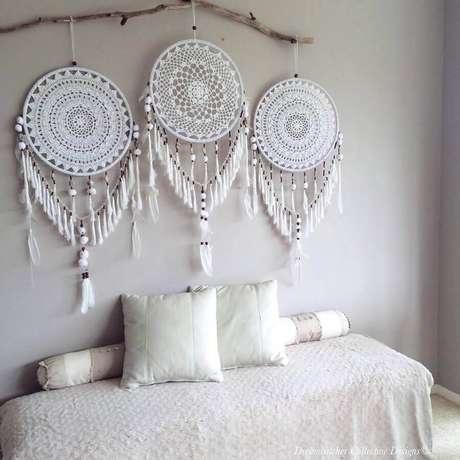 32. Decoração para quarto com filtros dos sonhos – Foto: Pintereset