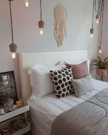 10. Decoração clean para quarto com filtro dos sonhos – Foto: Pinterest