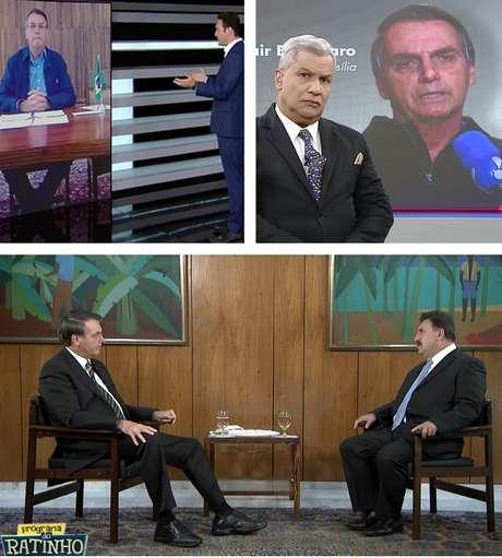 Bolsonaro na tela da RecordTV, RedeTV! e SBT: a televisão voltou a ser fundamental para se fazer política