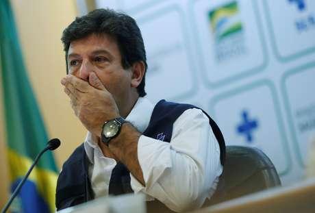 Ministro da Saúde, Luiz Henrique Mandetta 06/04/2020 REUTERS/Adriano Machado