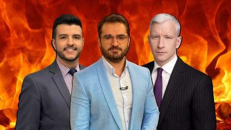 Matheus Ribeiro, Marcelo Cosme e Anderson Cooper: alvos fáceis na mira de homofóbicos e conservadores