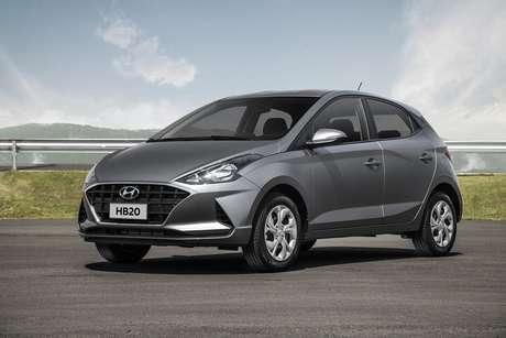 Hyundai HB20 Vision 1.6: versão que mais desvaloriza na troca por outro modelo.