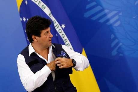 Ministro da Saúde, Luiz Henrique Mandetta 07/04/2020 REUTERS/Adriano Machado