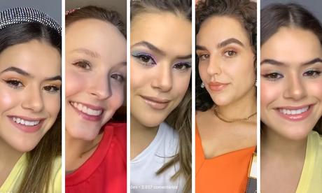 Makes das famosas (Fotos: Instagram/Reprodução)