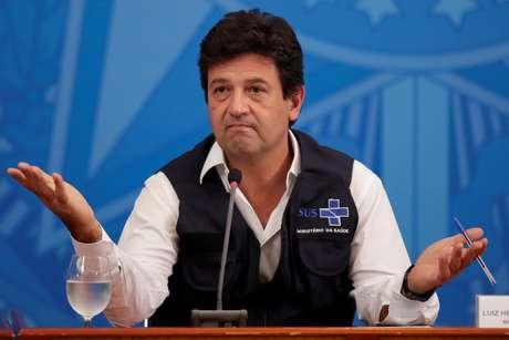 Ministro da Saúde, Luiz Henrique Mandetta 15/04/2020 REUTERS/Ueslei Marcelino