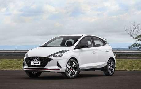 Hyundai HB20: bom desempenho de vendas com a nova geração e mais um vice.