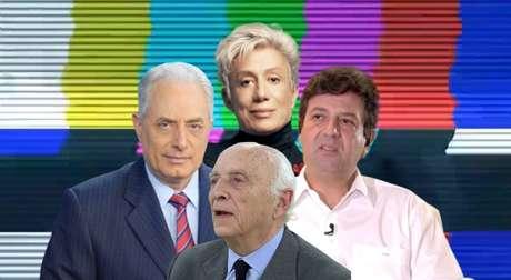 William Waack, Clodovil Hernandez, Rubens Ricupero e Luiz Henrique Mandetta: falar demais causou prejuízo à carreira