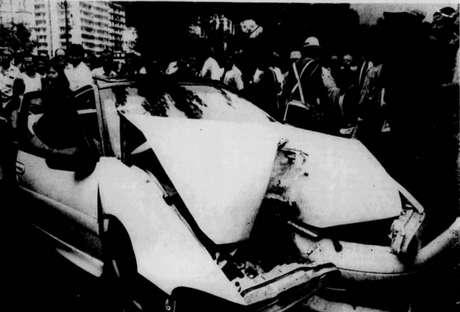 Há 26 anos, o atacante Dener, do Vasco, falecia em tragédia automobilística no Rio de Janeiro (Reprodução / Jornal dos Sports)