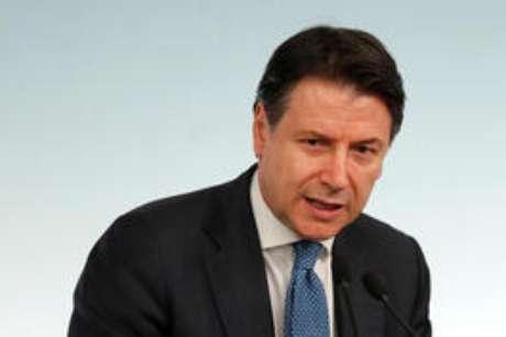 Primeiro-ministro da Itália, Giuseppe Conte. 4/3/2020. REUTERS/Remo Casilli