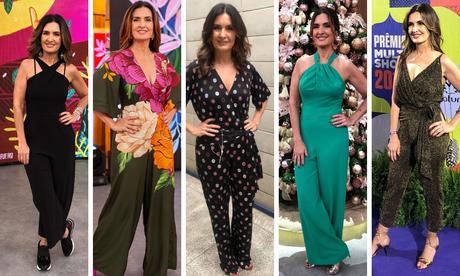 Fátima Bernardes (Fotos: Reprodução/Instagram)