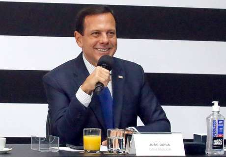 João Doria, governador de São Paulo.