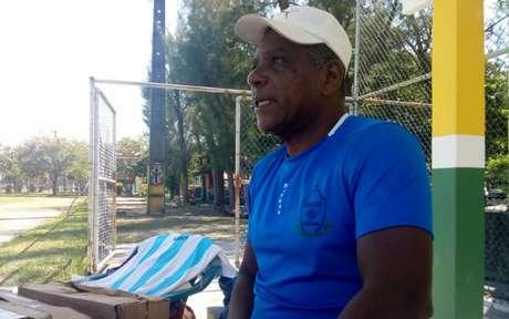 José Carlos Pereira é gerente de base do Macaé (Foto: Cassiano Carvalho/Macaé)