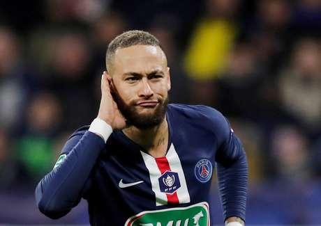 Neymar está em sua terceira temporada pelo PSG