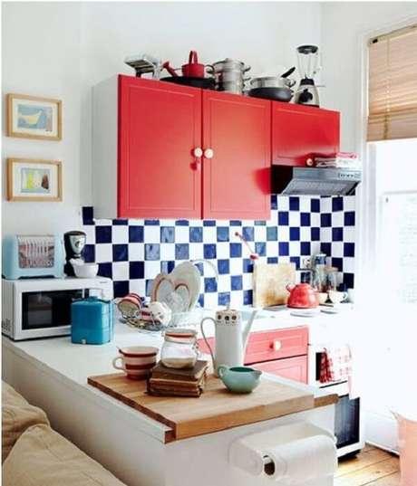 4. Já os azulejos podem o toque a mais na personalidade do ambiente – Foto: Casa e festa