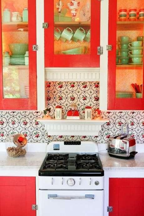 2. Paredes para cozinha são a base da decoração do ambiente – Foto: Via Pinterest