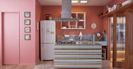 23. O tom de rosa no estilo vintage é uma ótima escolha para a decoração – Foto: Via Pinterest