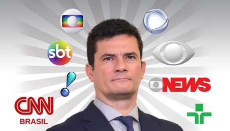 O ex-juiz e agora ex-ministro Sergio Moro se tornou a figura mais midiática do momento no Brasil