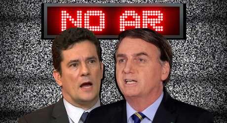 Moro e Bolsonaro: o duelo de gigantes saiu dos bastidores do poder e passou a ser travado diante das câmeras de TV