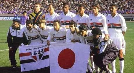 Band reprisou o bicampeonato mundial do São Paulo no Japão em 93