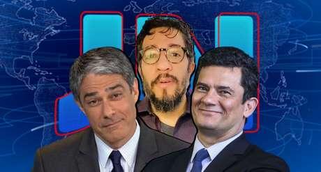 Wyllys disparou contra Moro e acertou também a Globo de William Bonner ao comentar a nova crise política em Brasília