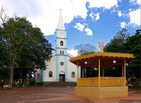 Igreja Matriz de Arandu, município com maior letalidade do coronavírus em São Paulo