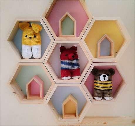 38. A decoração do quarto infantil fica incrível – Foto: Via Pinterest