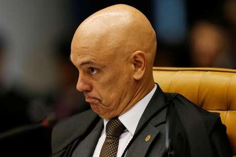 Ministro Alexandre de Moraes no STF 29/4/ 2018 REUTERS/Adriano Machado