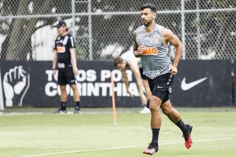 Camacho tem sido titular do Corinthians sob o comando de Tiago Nunes (Foto: Daniel Augusto Jr./ Ag. Corinthians)